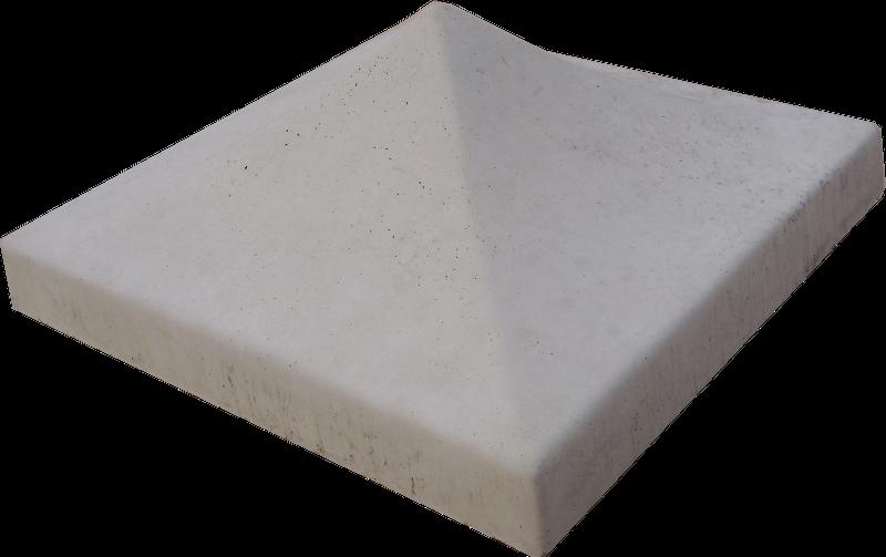 Daszek na słupek (579) - 34x34