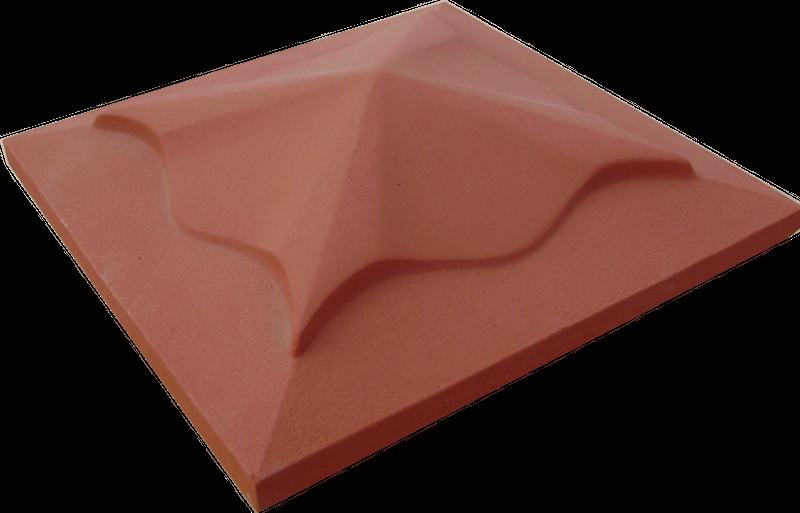 Daszek na słupek (586) - 45x45x12